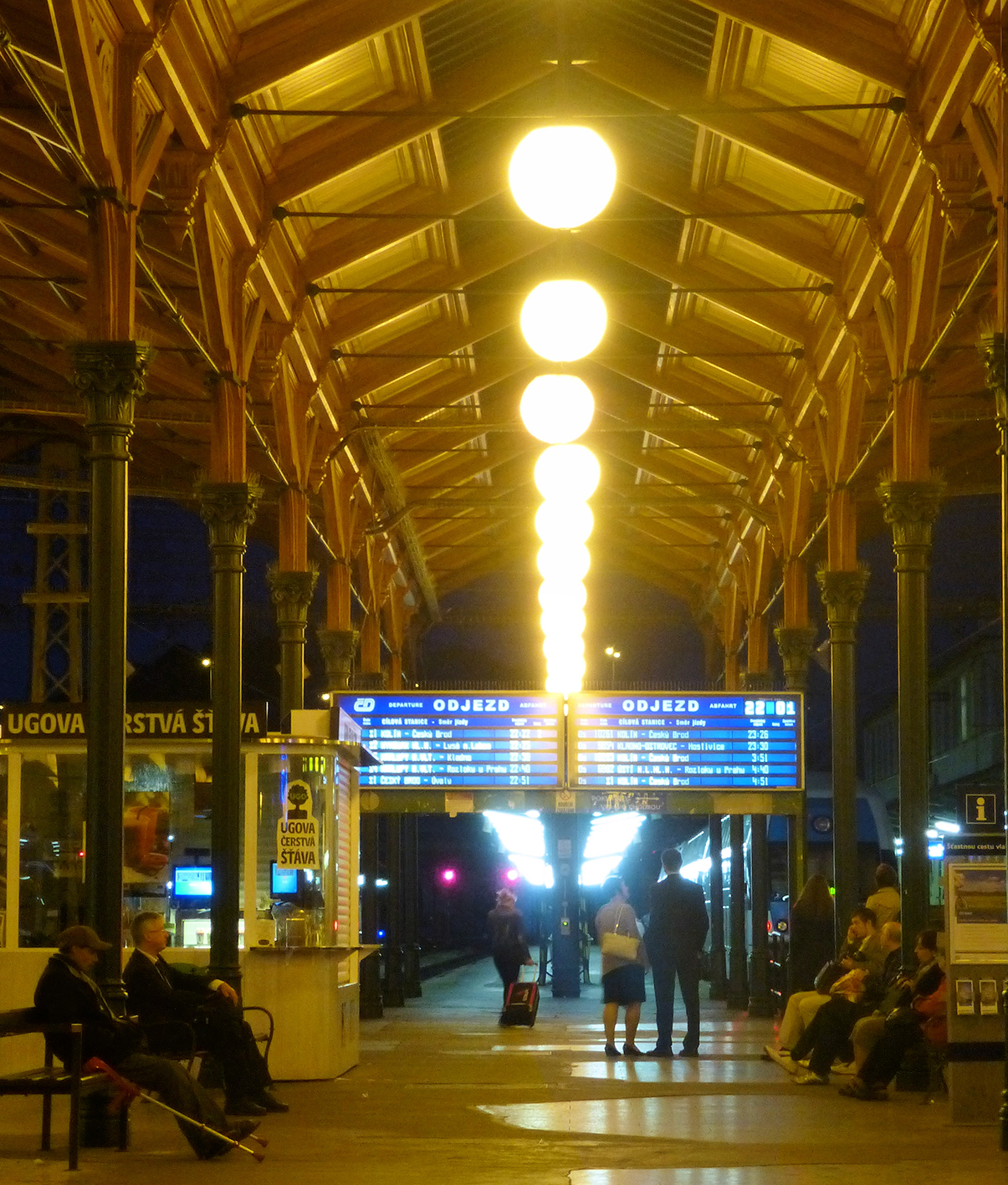 2.Prague Masaryk railway station